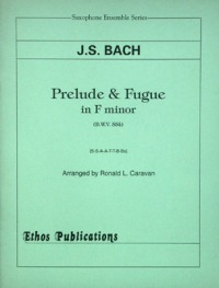 J.S. Bach: <br>Prelude & Fugue in Fm (arr. R. Caravan) (SSAATTBBs)