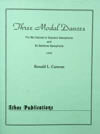 Ronald L. Caravan: <br>Three Modal Dances (Duet)