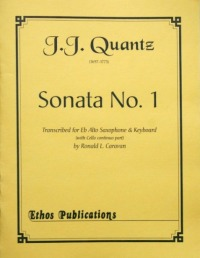 J.J. Quantz: <br>Sonata No. 1 in A Minor (arr. R. Caravan)